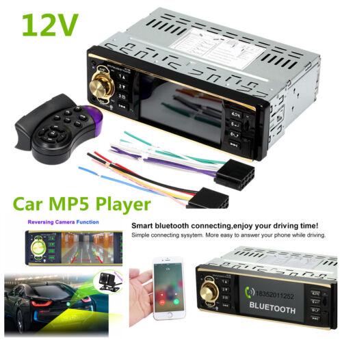 "4.1/"" 12V Car MP5 Player Bluetooth TFT Screen Stereo Radio+Steering Wheel Remote"