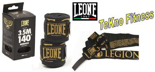BENDAGGI LEONE LEGIONARIVS 3.5 MT FASCE GUANTONI BENDE KICK THAI BOXE MUAY THAI