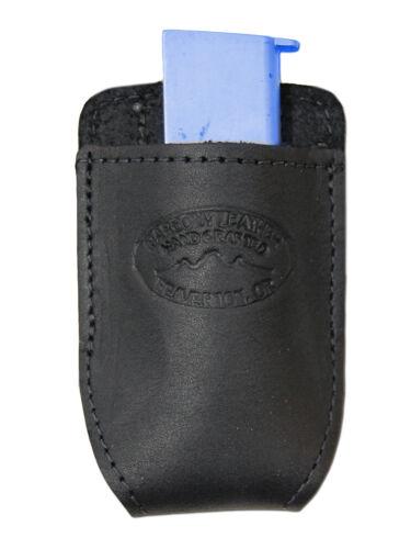 Colt Mini//Pocket 22 25 380 NEW Barsony Black Leather Magazine Pouch for Bersa