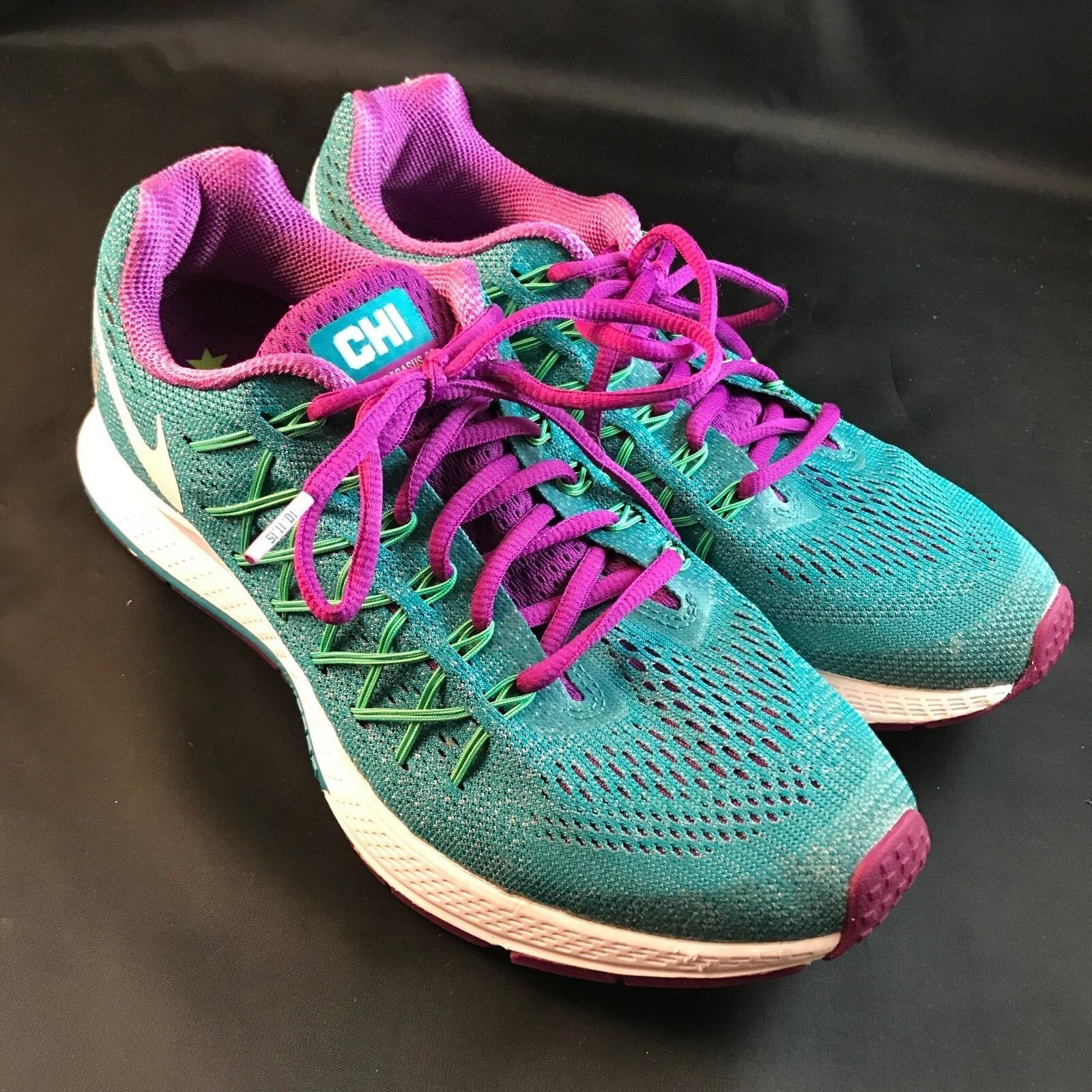 Nike air zoom pegasus + edition 32 chicago marathon edition + Blau frauen 9, 40 euro 0bfb14