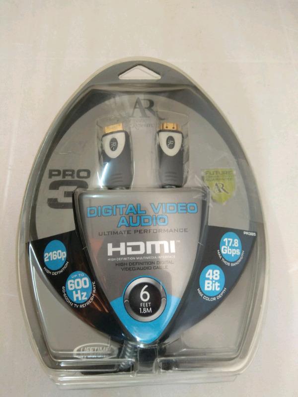 Acoustic Research HDMI Cable. PR 385 PRO 3.