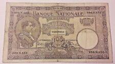 100 francs 1921 Belgique 100 Frank Belgïe