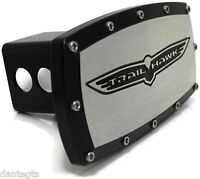 Jeep Trailhawk Billet Aluminum 2 Hitch Cover Plug Engraved Black Powder Coated