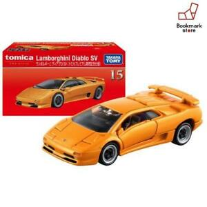 Lamborghini Diablo SV in gelb 1//62 Takara Tomy Tomica Premium #15