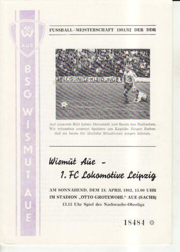 FC Lok Leipzig OL 8182 BSG Wismut Aue 1