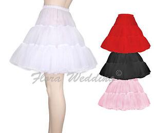 Fancy-Gothic-Lolita-Tutu-Petticoat-Rockabily-Underskirt-50s-Vintage-Skirt-18-L