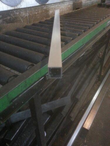 """1/"""" Aluminum Square Tube 6063 T5 .125/"""" wall x 48/"""""""