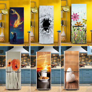 3d Wall Art Sticker Vinyl Decal Self Adhesive Door Fridge