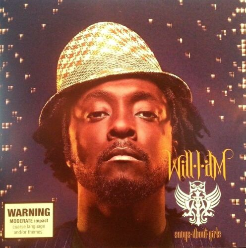 1 of 1 - WILL I AM CD SONGS ABOUT GIRLS 2007 FREE POSTAGE WITHIN AUSTRALIA