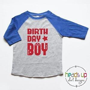 6a3bb845 Birthday Boy Raglan Shirt Toddler 1st 2nd 3rd 4th 5th Bday tshirt 1 ...