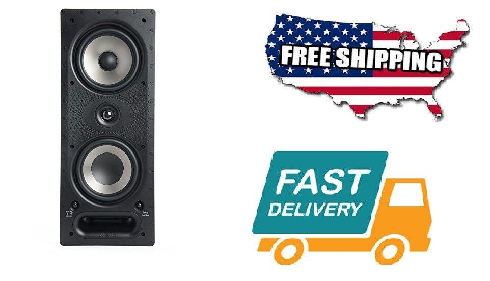 Home Polk Sound Audio Music In-Wall High-Performance Speaker Surround  Power Fit