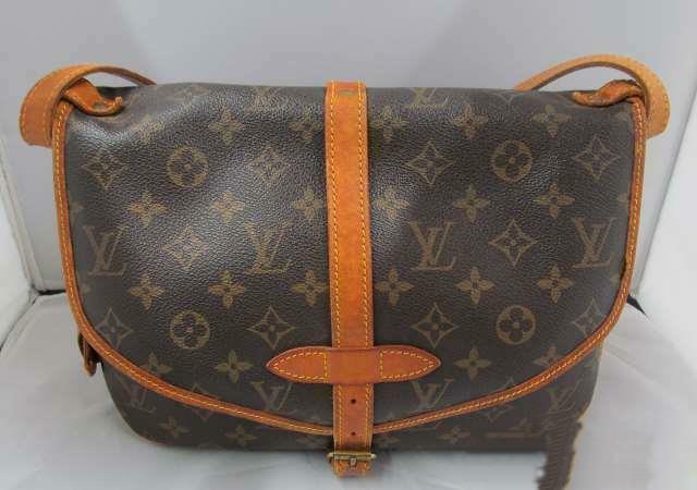 Louis Vuitton Saumur 30 M42256 Shoulder Bag Brown For Sale Online Ebay