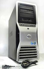 48Gb RAM 2x X5570 Quad Core 2.9Gh NO HARD DRIVE Dell Precision T7500 Workstation