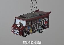 M&M's Drag Smokin' Grille Truck Custom Christmas Ornament 1/64 Food Race Muscle