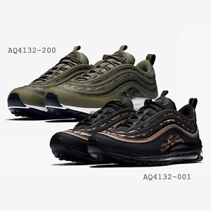 Details about Nike Air Max 97 AOP Tiger Camo Print Green Black Mens Running Shoes Pick 1