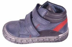 cb646355694c Bo-bell I Blake Boys Blue Leather Boots UK 5.5 EU 22 US 6