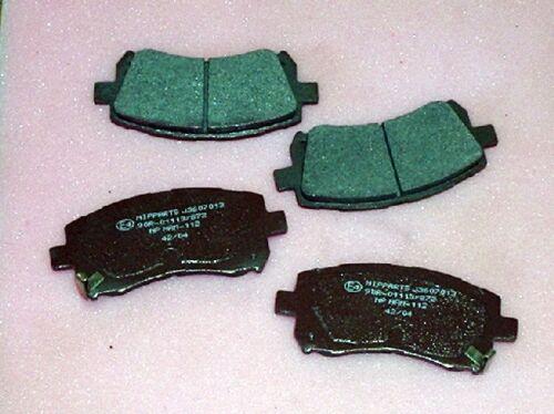 2.0 2.5 3.0 4 pad set for 277mm discs Front Brake pads  Subaru Legacy 1996-2003