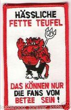 """Anti Lautern Aufnäher """"Fette Teufel"""" Kutte Weste Fan Patch Block Kurve + neu +"""