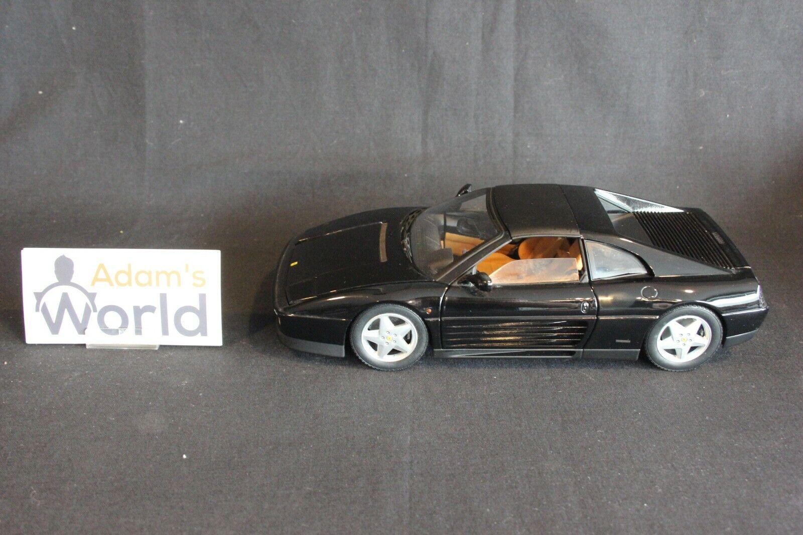 Hot Wheels Elite Ferrari 348ts 1 18 black (PJBB)
