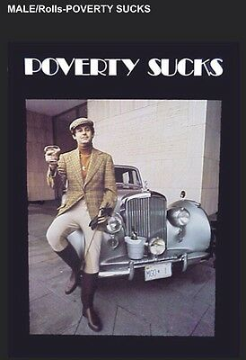 "Poverty Sucks- Male""The Famous Poster"" Limited Offer Car Poster Own It!!"