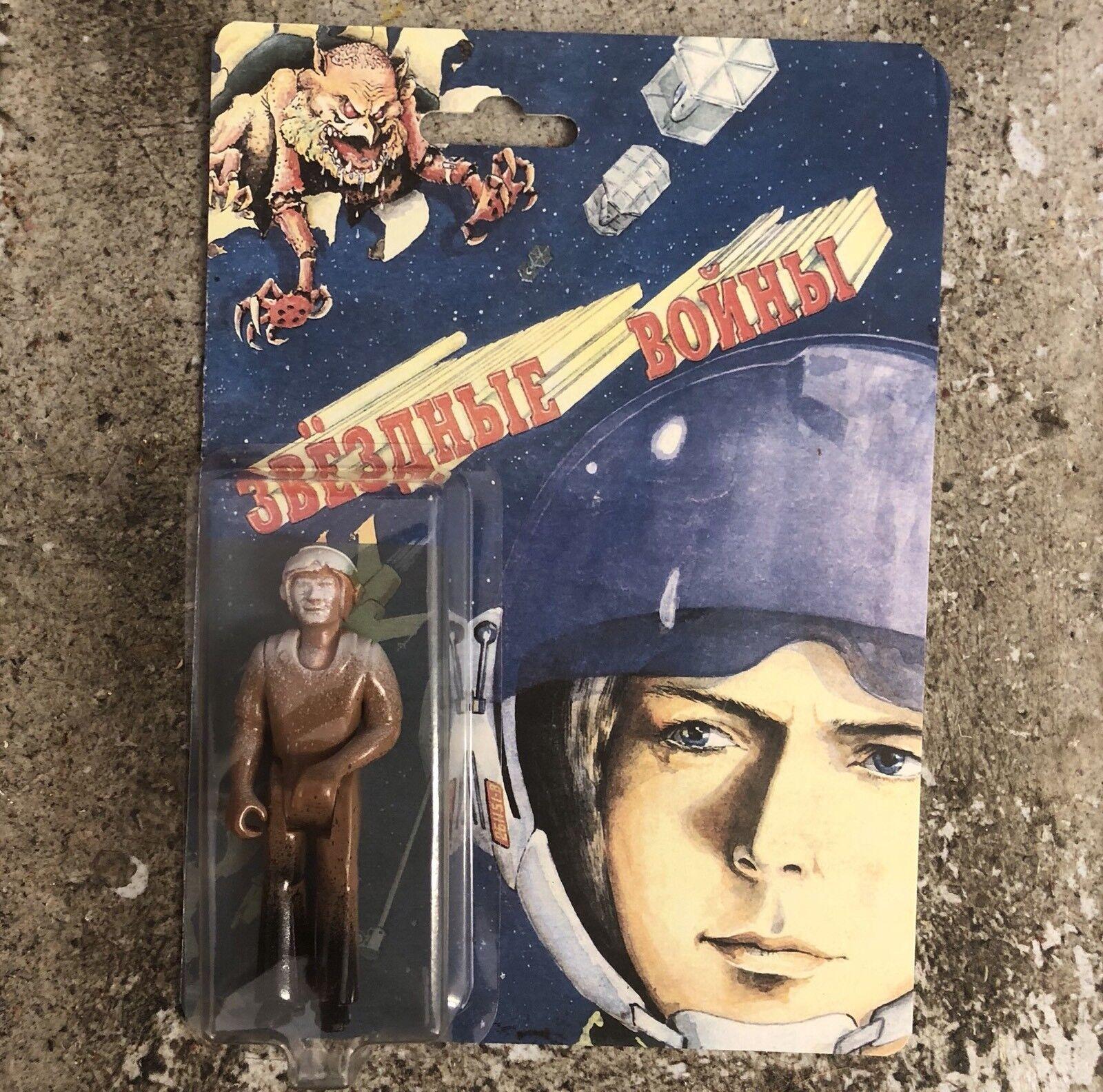 Custom Russian Stiefelleg Star Poster Luke Skywalker Pilot Figure Stiefelleg jedi Wars