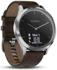 Garmin vivomove HR Premium L, WW, black-silver (Smartwatch)