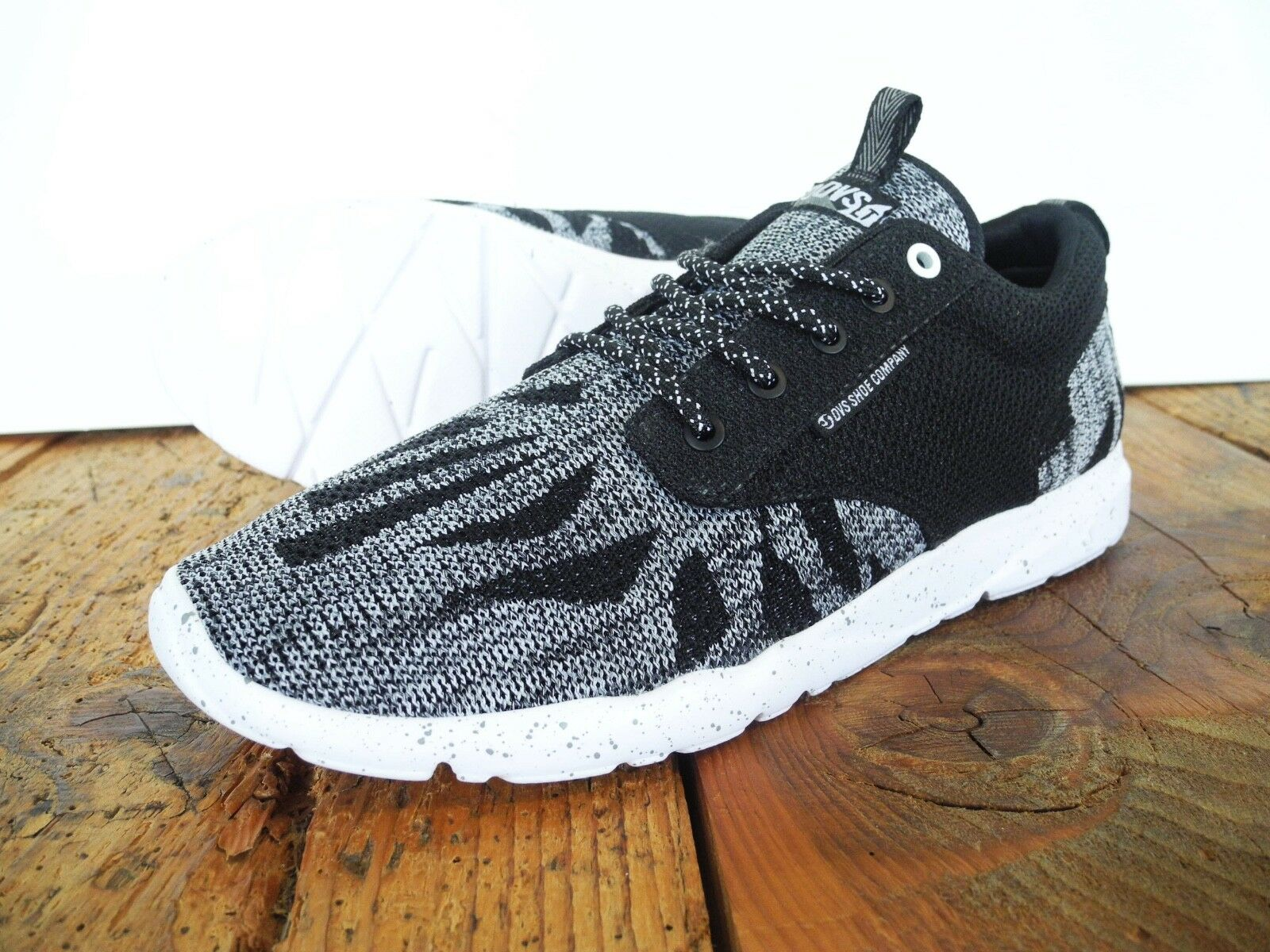 DVS Schuhe PREMIER 2.0 PLUS SNEAKER NEU BLACK-Weiß US Schuhe 9 EUR 42.5 DVS Schuhe US 61abb2