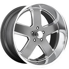 22x11 Gray Wheel US Mags Hustler U118 5x5 18