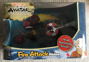 Avatar the Last Airbender Fire Attack Rhino