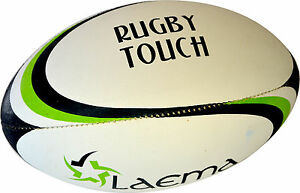RUGBY TOUCH BALL- Senior Match -Ultra Raised Pin Grip 4PLY OzTag Union Ball