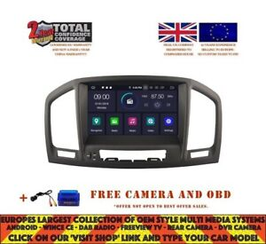Details about BLACK DVD GPS NAVI BT ANDROID 9 0 4GB DAB+ WIFI VAUXHALL OPEL  INSIGNIA RV5753