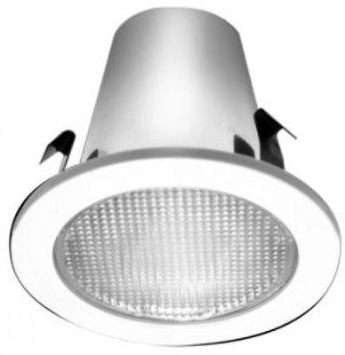 "HALO 951PS 4"" Recessed Shower Light Baffle & Trim - White ..."