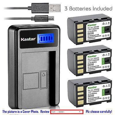 GR-D745 LCD Quick Battery Charger for JVC GR-D740 GR-D746 Mini DV Digital Camcorder