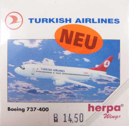 Boeing 737-400 Turkish Airlines Herpa 501224 1:500