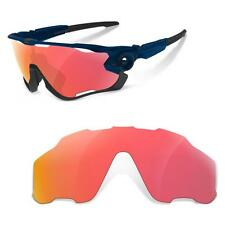 c67a7b8079 New SURE Polarized Replacement Lenses for Oakley Jawbreaker ( Ruby Red )