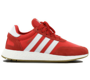 829aa16b8c4 Adidas Iniki I-5923 Boost Men s Sneakers Shoes Red Sneakers Leisure ...