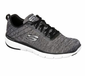 Skechers-Black-shoes-Men-039-s-Memory-Foam-Sporty-Comfort-Casual-Athletic-Mesh-52956