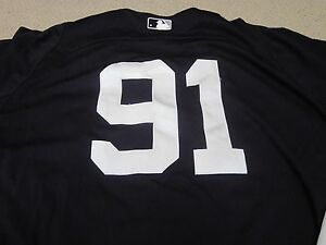 pretty nice 11aca d16a5 Details about #91 NY Yankees Game Used 2013 Spring Training Jersey Steiner
