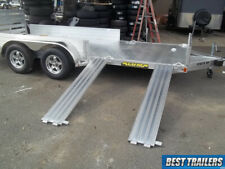 Aluma 8116 Sr 7x16 Carhauler Atv Trailer Side Load Utv Aluminum Utility W Sides
