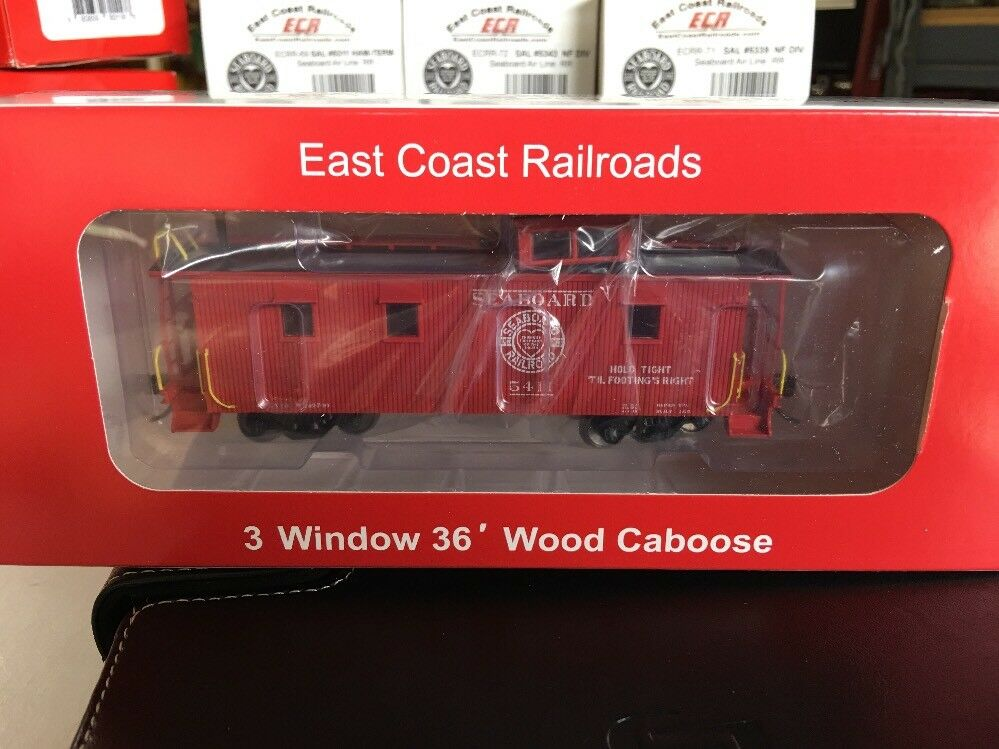HO SCALE 1:87 SAL CABOOSE S. FLA  5411 ECR BETTER THAN BRASS AT 1/3 OF THE COST