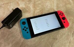 Nintendo Switch 32GB Neon Red/Neon Blue Console #12845-4