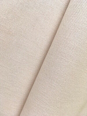 Zweigart Ivory//Cream 32 Count Murano Cotton Evenweave Multiple Sizes Available