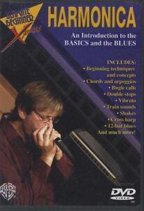 Introduction-to-Basics-amp-Blues-Harmonica-de-scolarite-pour-apprendre-a-jouer-DVD-par-David-Hart