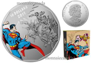 Canada-DC-Comics-Originals-Gauntlet-Fine-Silver-Coloured-Coin-2015