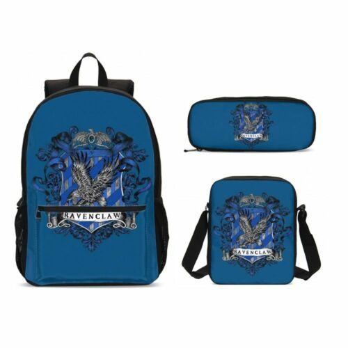 Harry Potter Ravenclaw Kid Backpack School Bag Insulated Lunch Bag Pen Case Lot