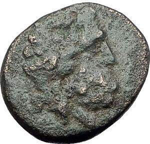 5399da59126a PERGAMON in Mysia 150BC Ancient Greek Coin ASCLEPIUS Medicine SNAKE ...