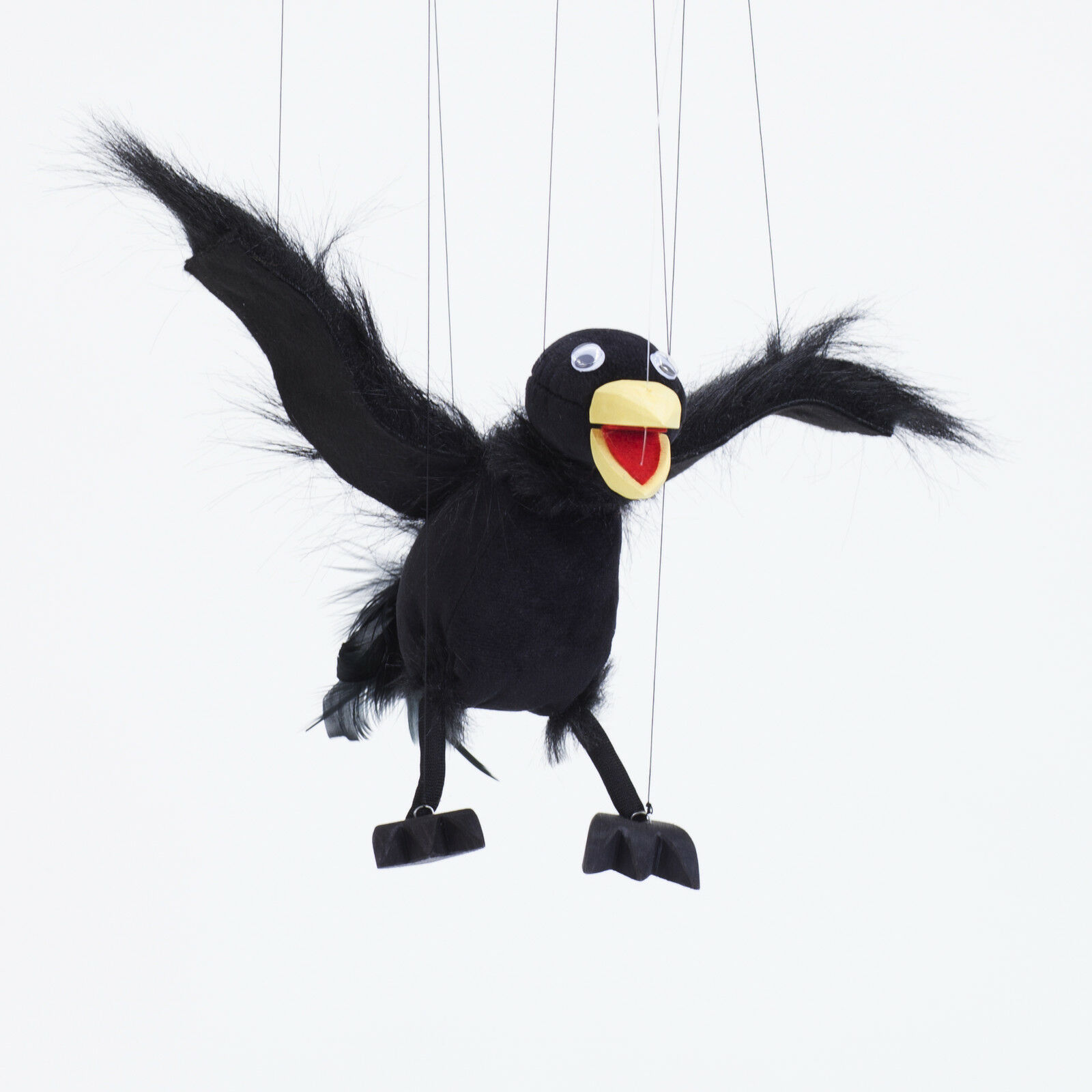 Augsburg Puppenkiste Lukulla Cuervo Marionette