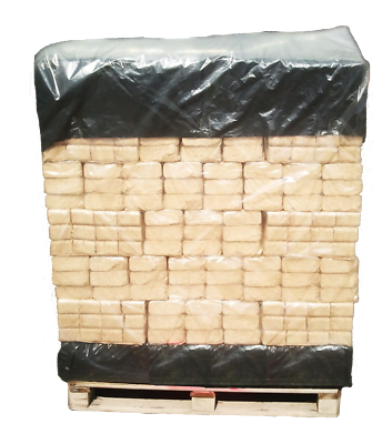 Heat Logs Briquettes Hardwood Firewood Ruf Oak Eco Fuel Full Pallet Open Stove ✔