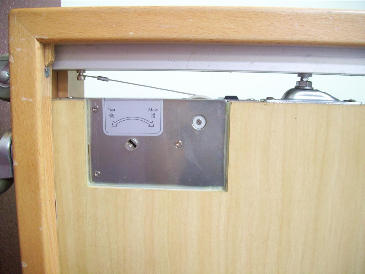 Sliding Door Closer Privacy Latch ASDC3550GPL