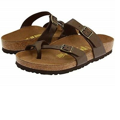 Authentic Birkenstock Mayari Birko Flor Sandals Graceful Toffee for women | eBay